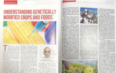Understanding genetically modified crops and foods