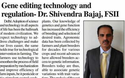 LUCKNOW TIMES – GENE EDITING